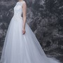 Classic Tulle Ball Gown With Lace and Beadings